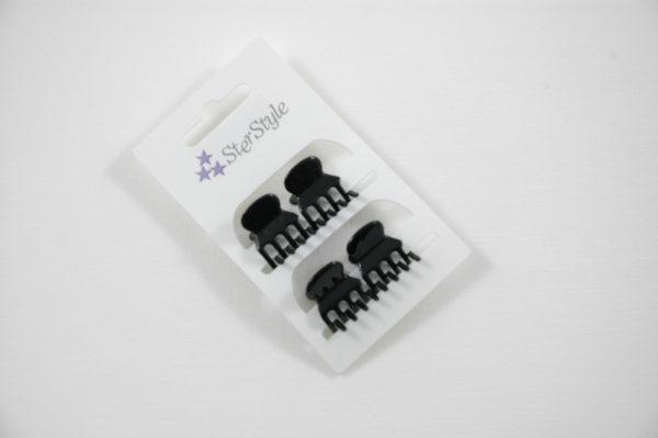 Klemmen 6x4 Zwart