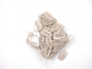 Clips per stuk ivoor