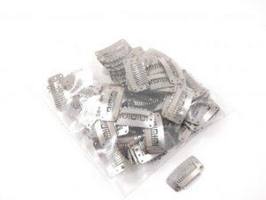 Clips per stuk zilver