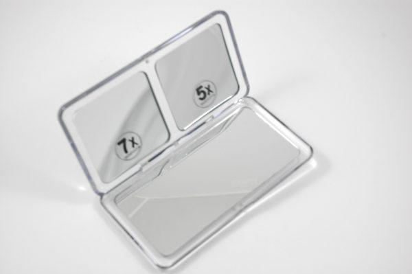 Klapspiegel 5x en 7x vergrotend
